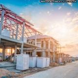 construção de alvenaria estrutural