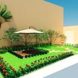 empresa de planta de paisagismo Faria Lima