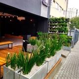 onde encontro paisagista para prédio Faria Lima