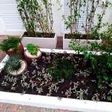 paisagismo jardim pequeno Faria Lima