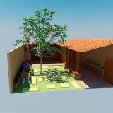 reforma de áreas externas Jardins