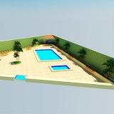 serviço de paisagismo para piscina Pompéia